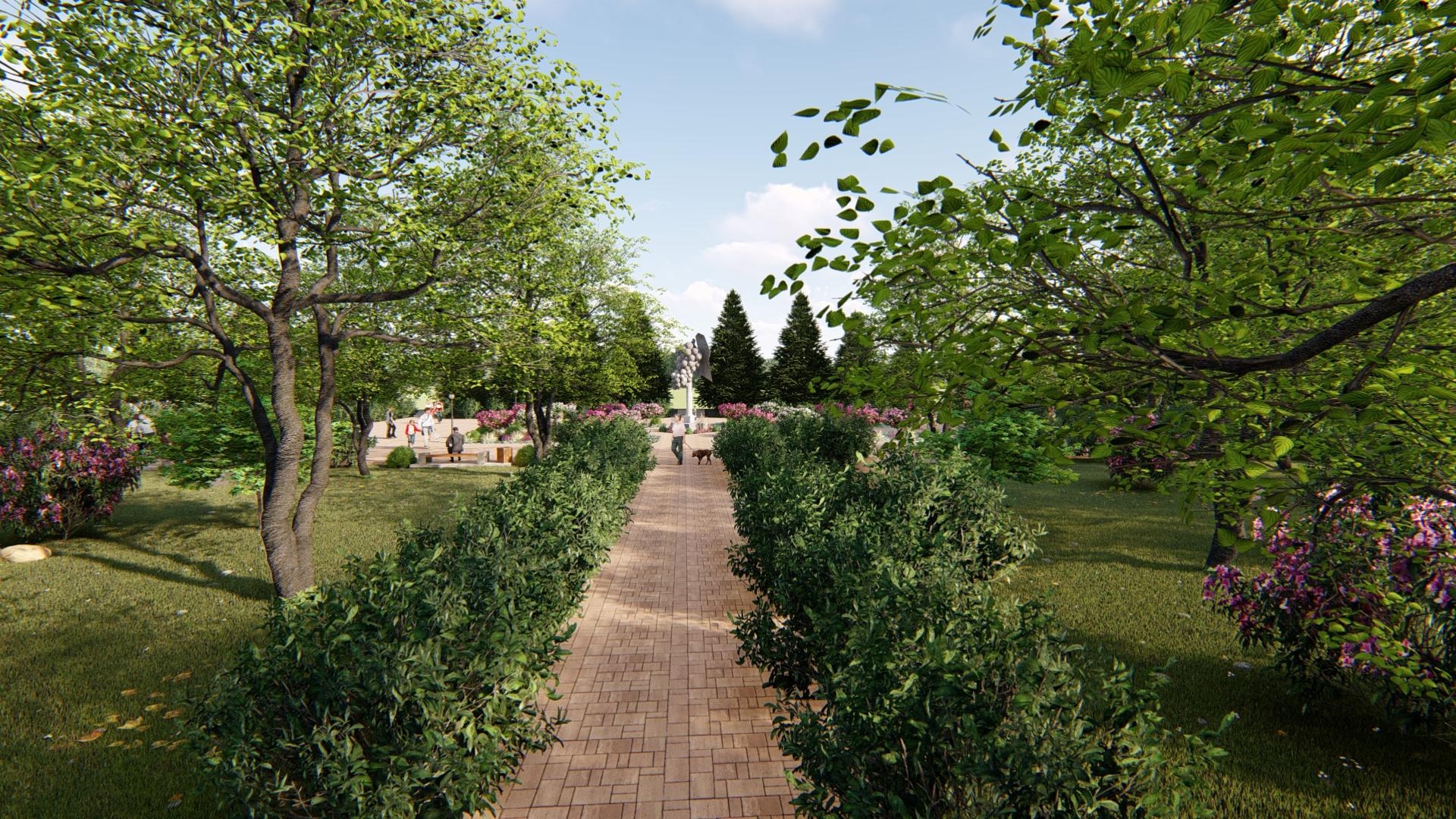 पार्क में सुधार ArchiCAD Other में प्रस्तुत छवि