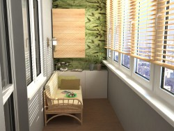 Eco em um apartamento de estúdio