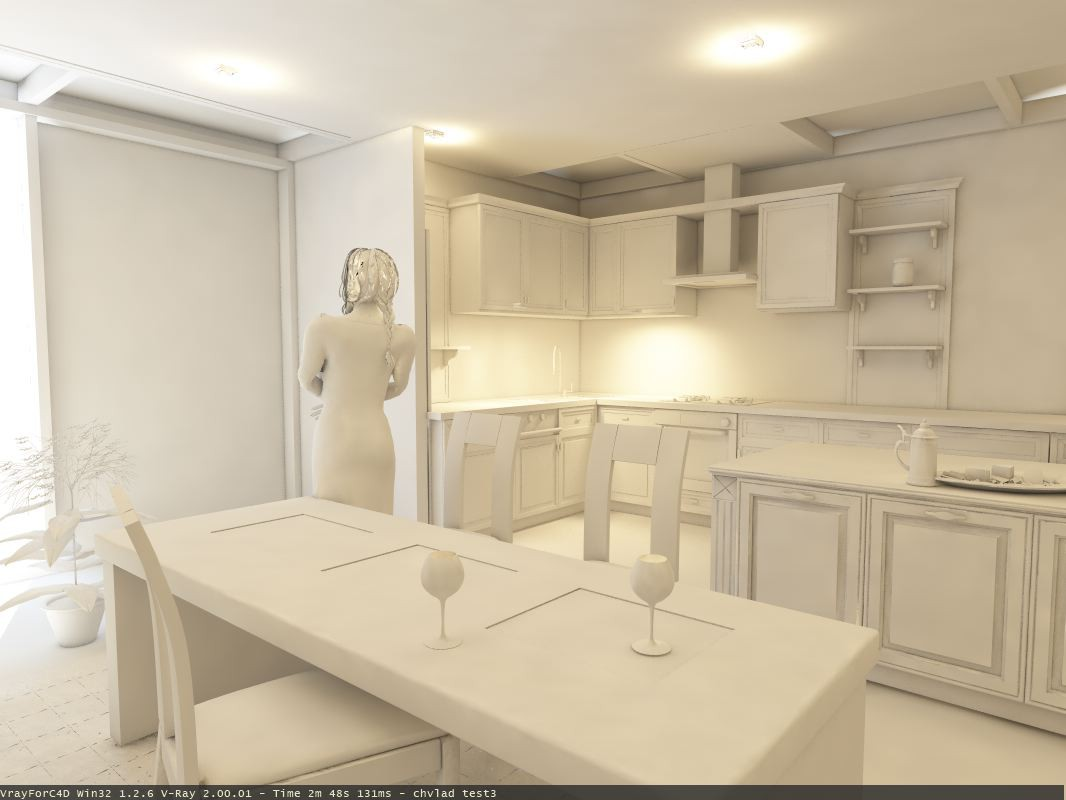 for South Stone Company in Cinema 4d vray image