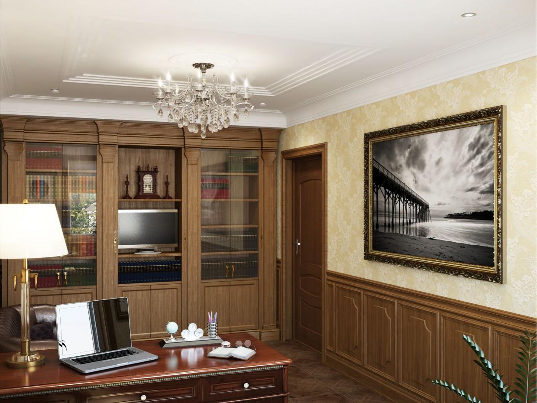 imagen de Habitación en casa privada en 3d max vray