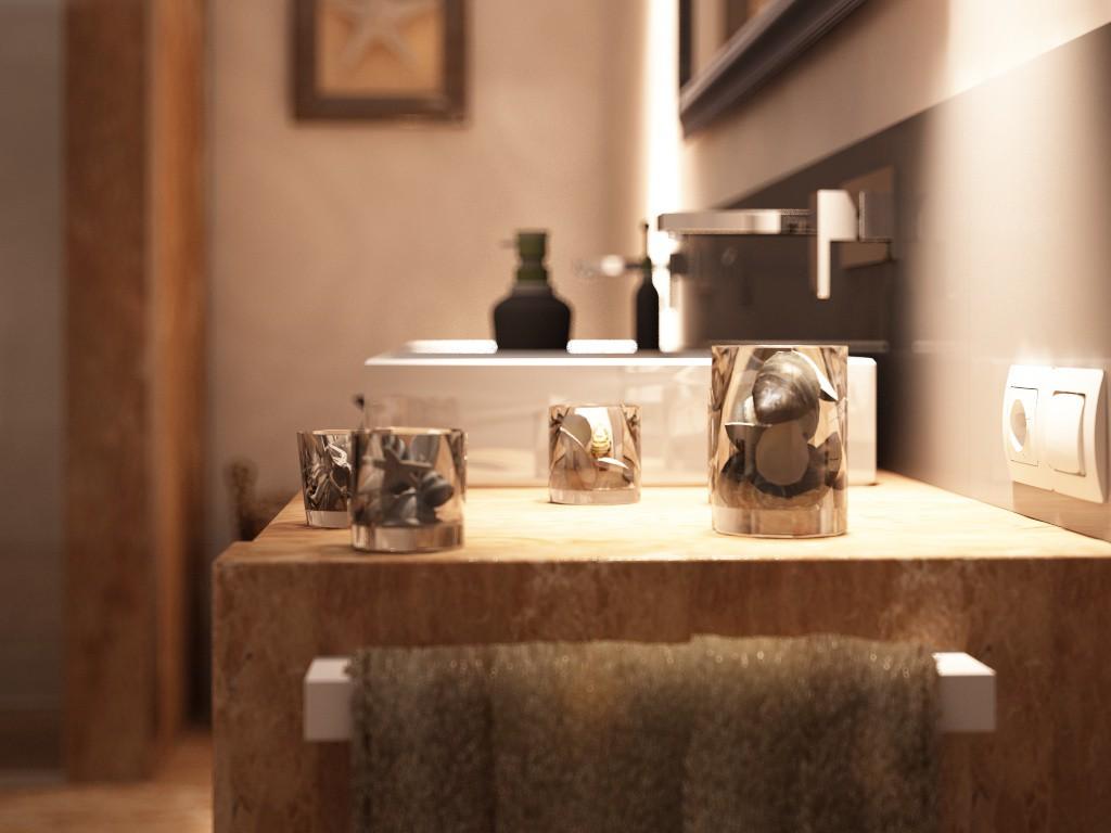 ванна для Роскамень в Cinema 4d vray зображення