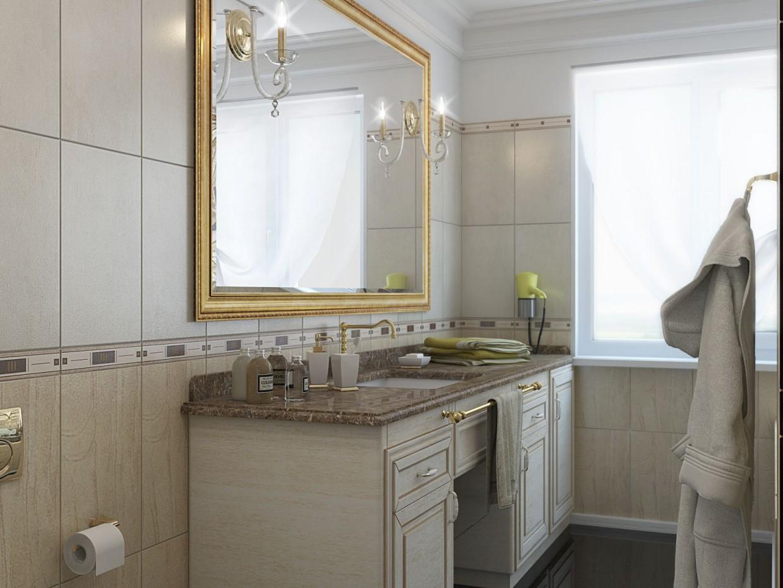 imagen de Baño en casa privada en 3d max vray