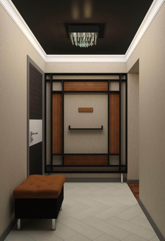 imagen de El diseño de la sala en el nuevo edificio en 3d max vray