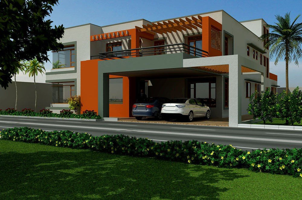Faisal Wahab Residence  in  3d max   vray  image