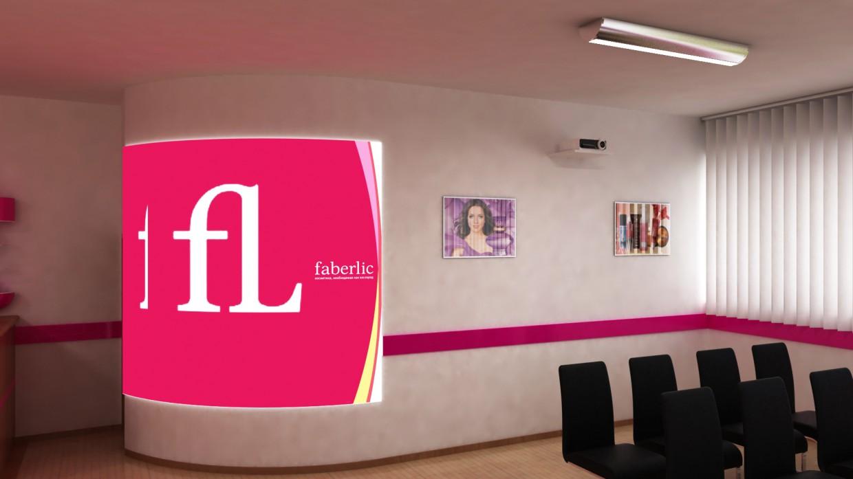 visualización 3D del proyecto en el Oficina para la firma Faberlic 3d max render vray 2.0 Nurullokhon
