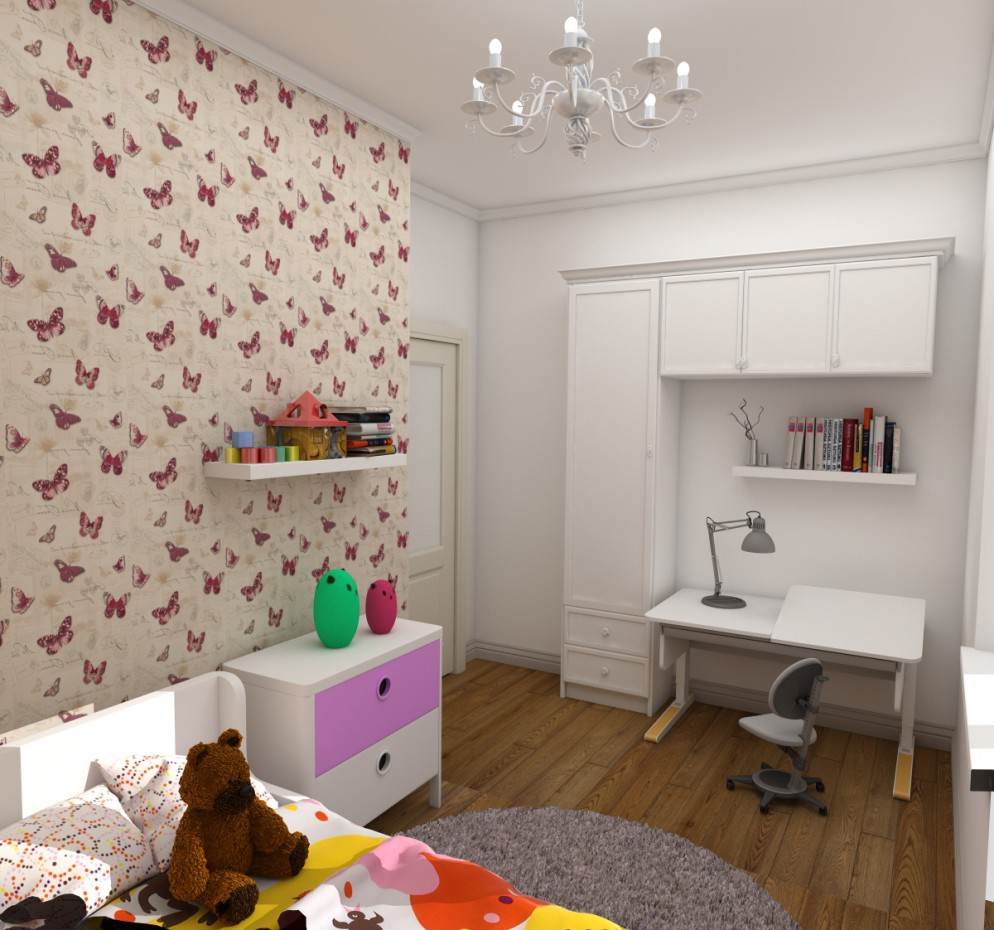 Children's rooms in 3d max vray 2.5 image