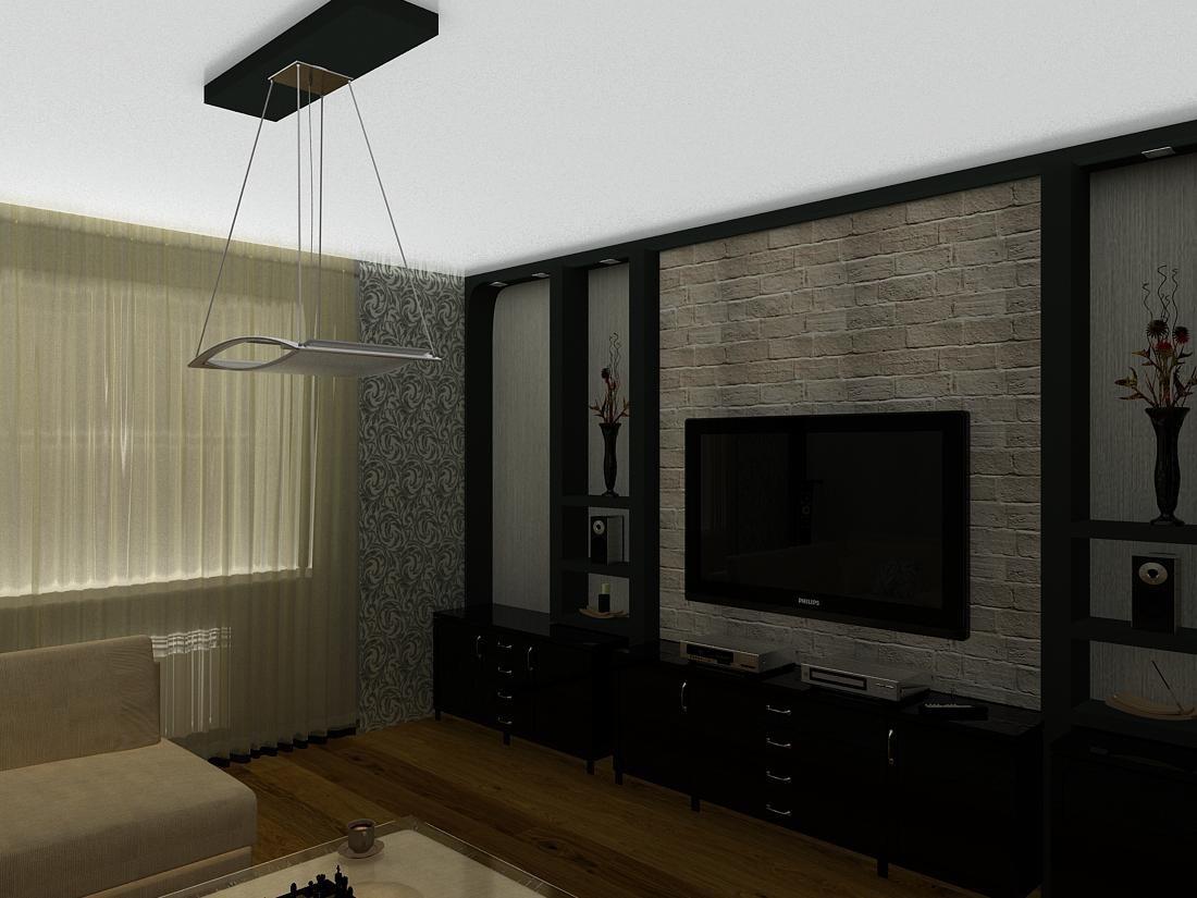 imagen de Sala de dibujo en 3d max vray