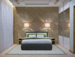 Camera da letto modesta