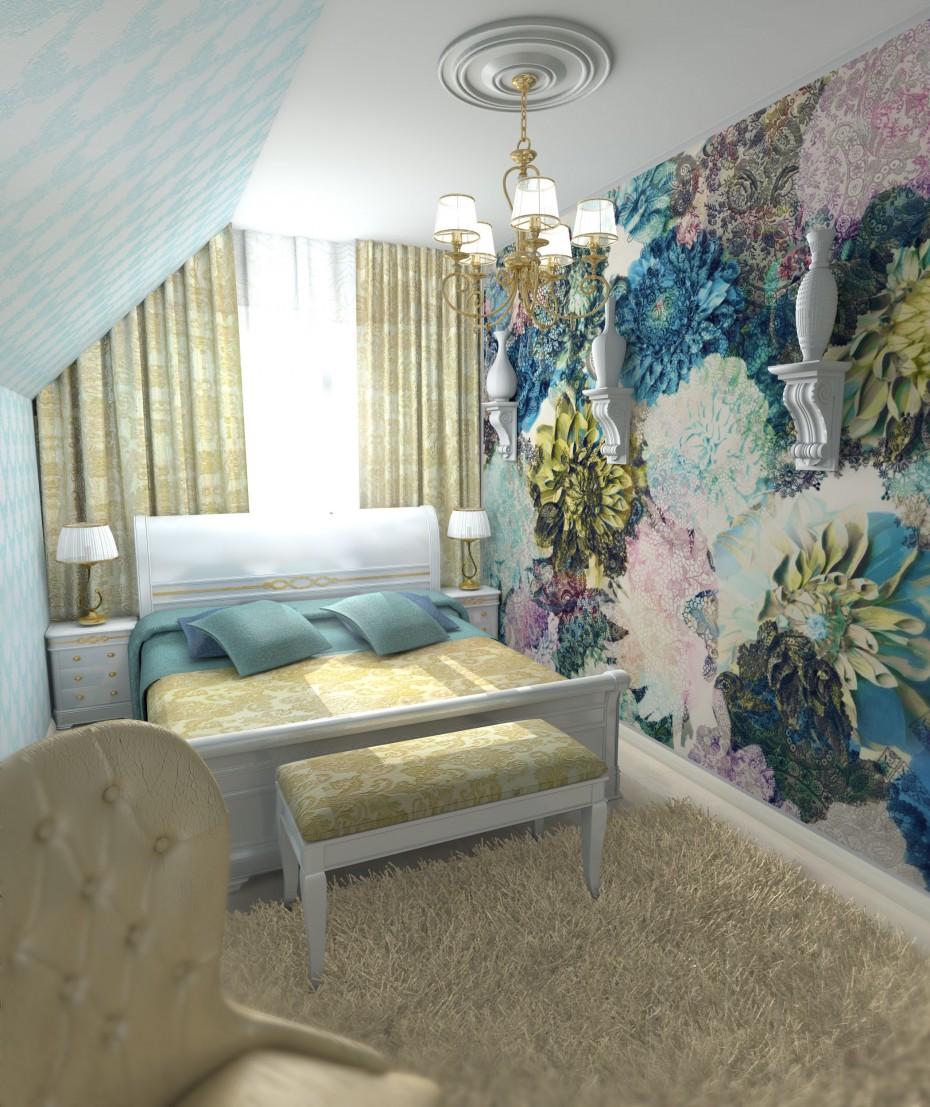 3d визуализация проекта Маленькая спальня в Другое, рендер Other от Charisma313