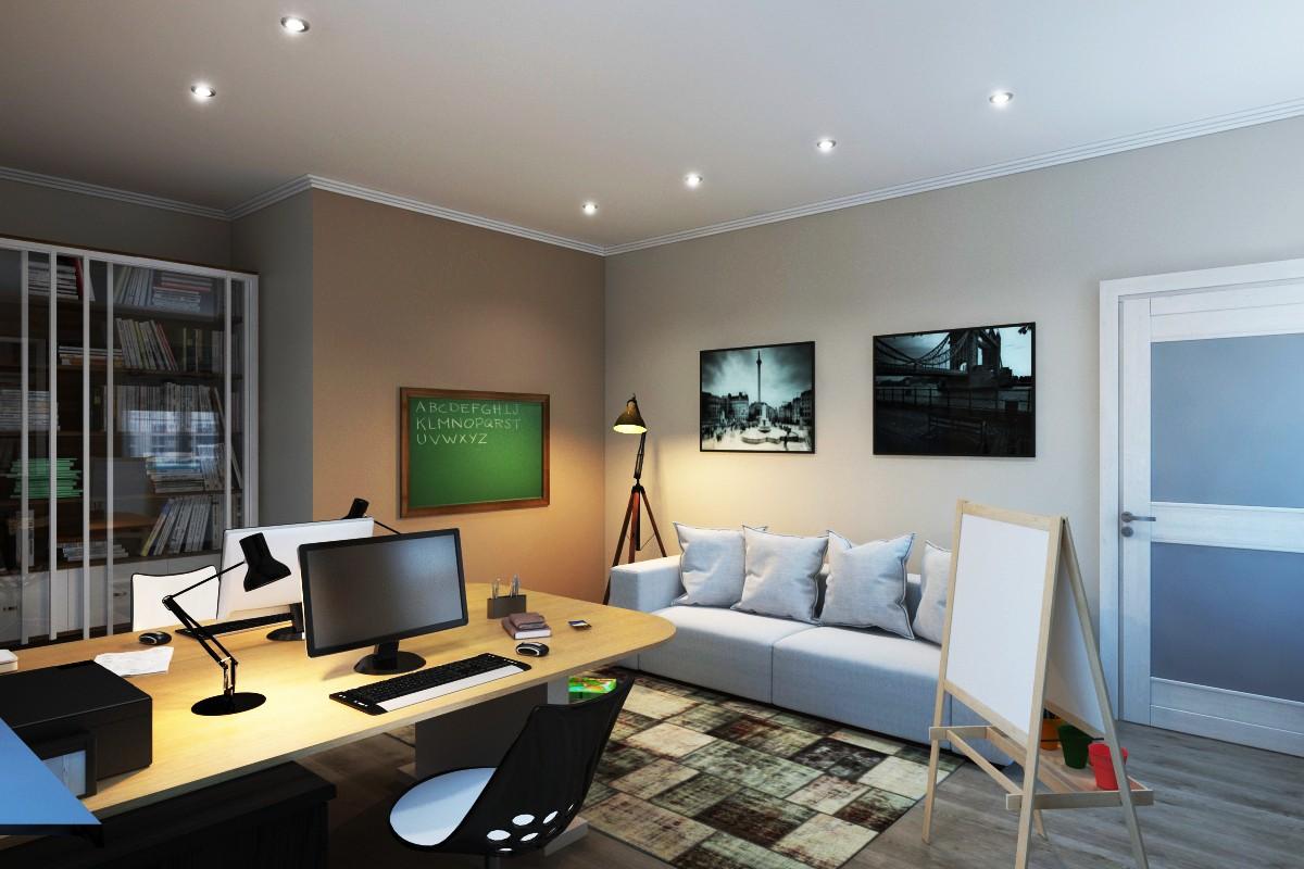 imagen de Salón privado en 3d max vray