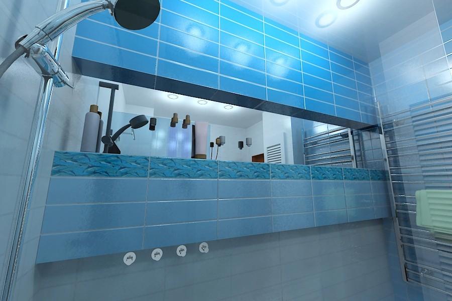 इंटीरियर-स्नान 3d max में प्रोजेक्ट की 3 डी विज़ुअलाइज़ेशन, vray Vokin