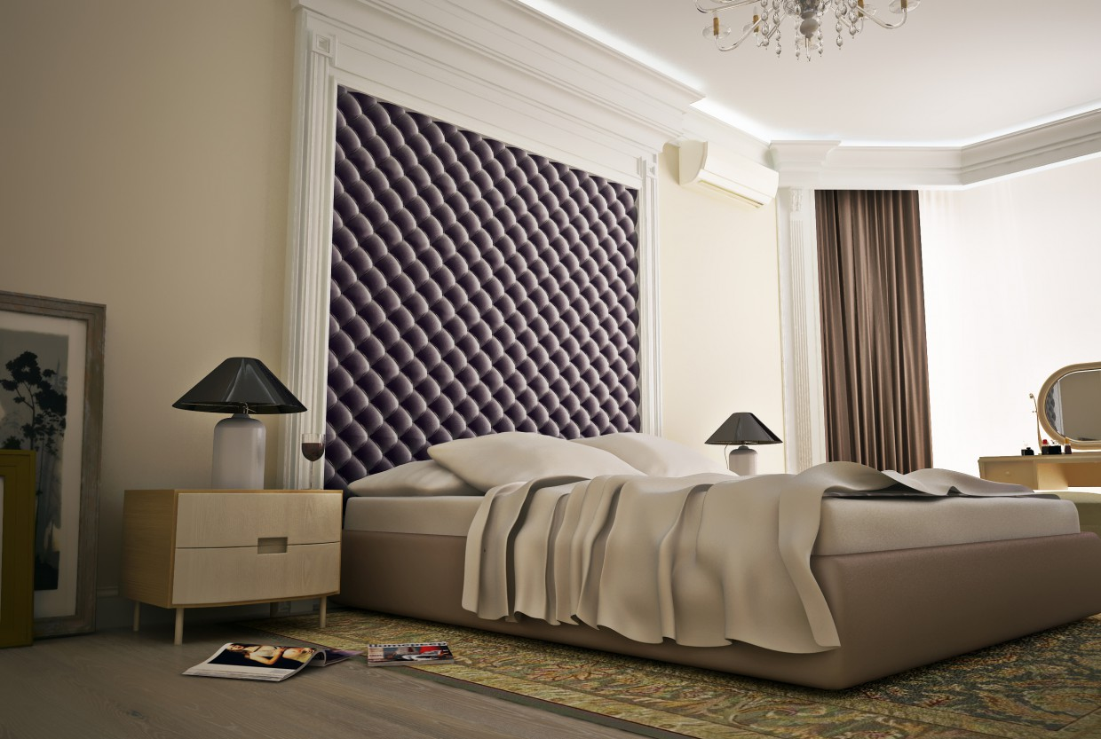 Bedroom business zhanshhiny in ArchiCAD vray 2.0 image