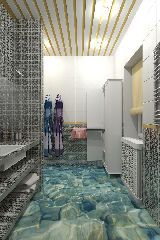 Visualización 3d Cuarto de baño | 3dlancer.net