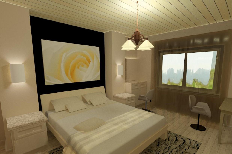 Светлая спальня в Другое vray изображение