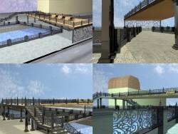 पैदल यात्री पुल परियोजना