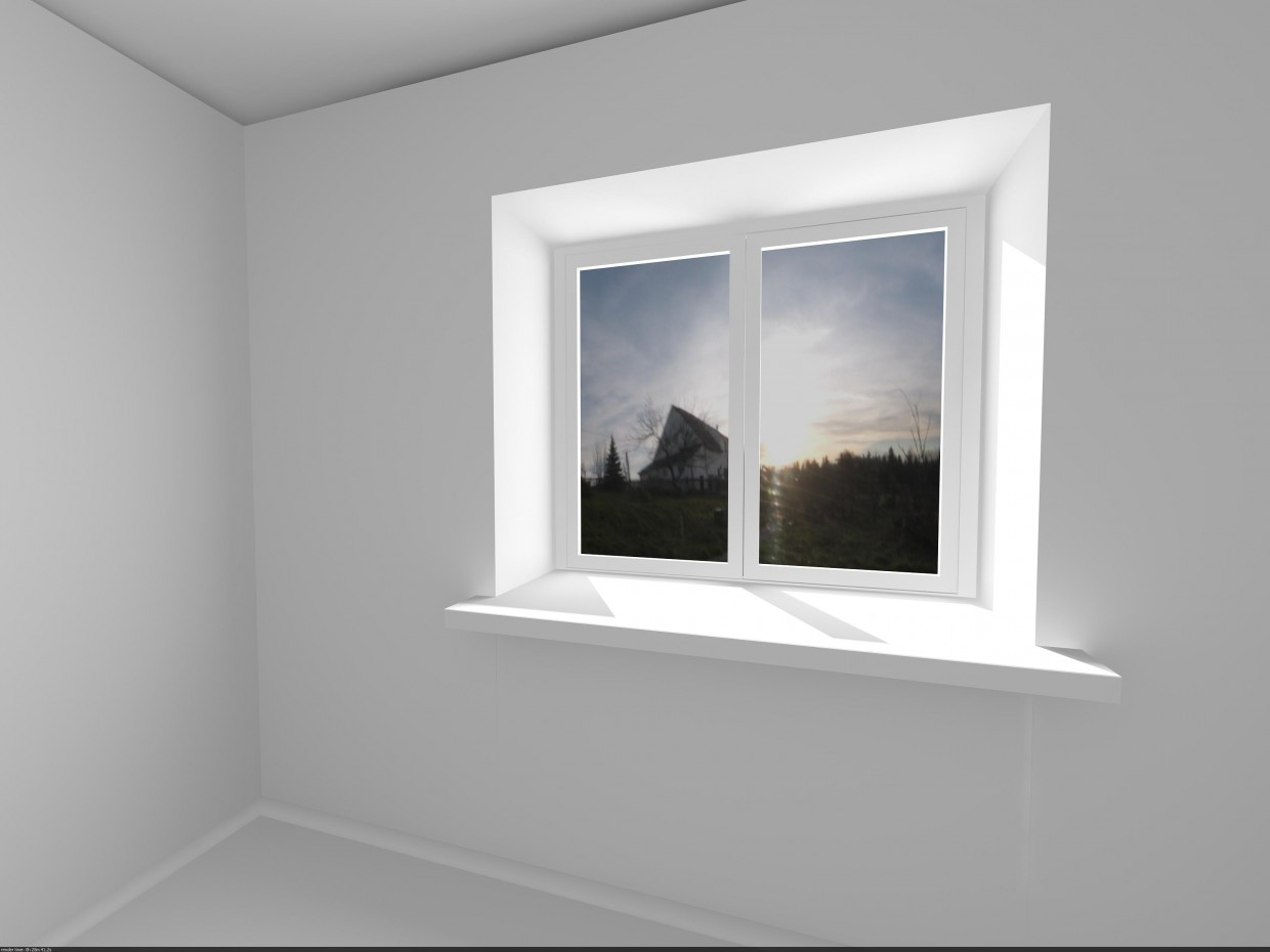 kitchen box in 3d max vray image