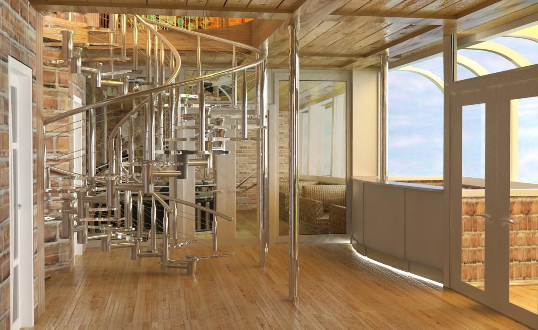 кафе в 2 поверху в 3d max vray зображення