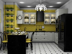 "Kitchen ""Vanilla"""