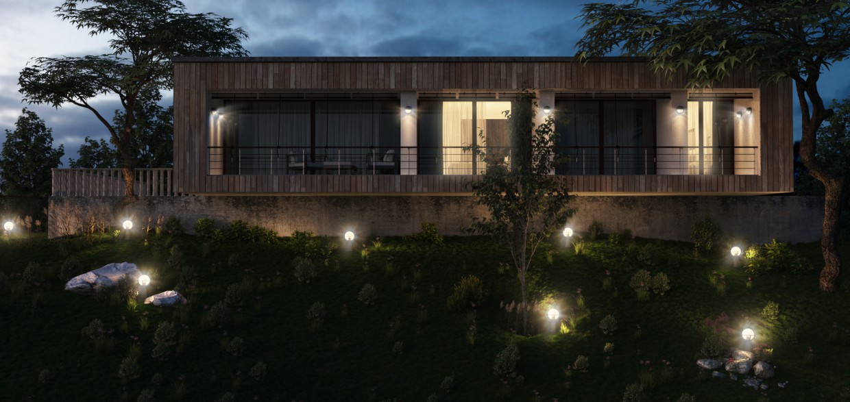 Guesthouse/guesthouse in 3d max corona render image