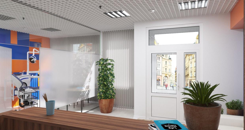 Клініка, Стоматологічні клініки стоматології в 3d max corona render зображення
