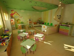 Room in a kindergarten