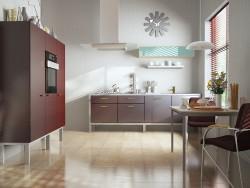 Küche des modernen Interieurs