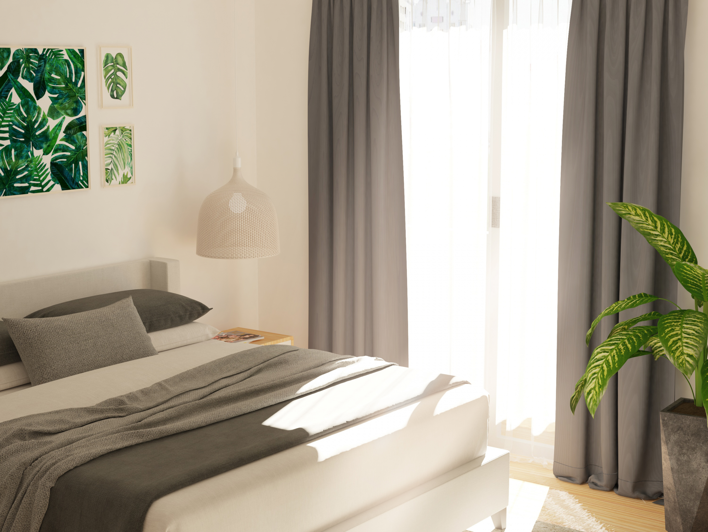 Bedroom Interior in 3d max vray 3.0 image