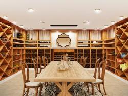 Camera camera/vino di vino, cantina