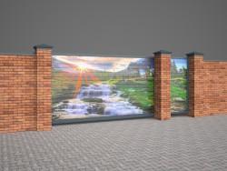 3D cancello