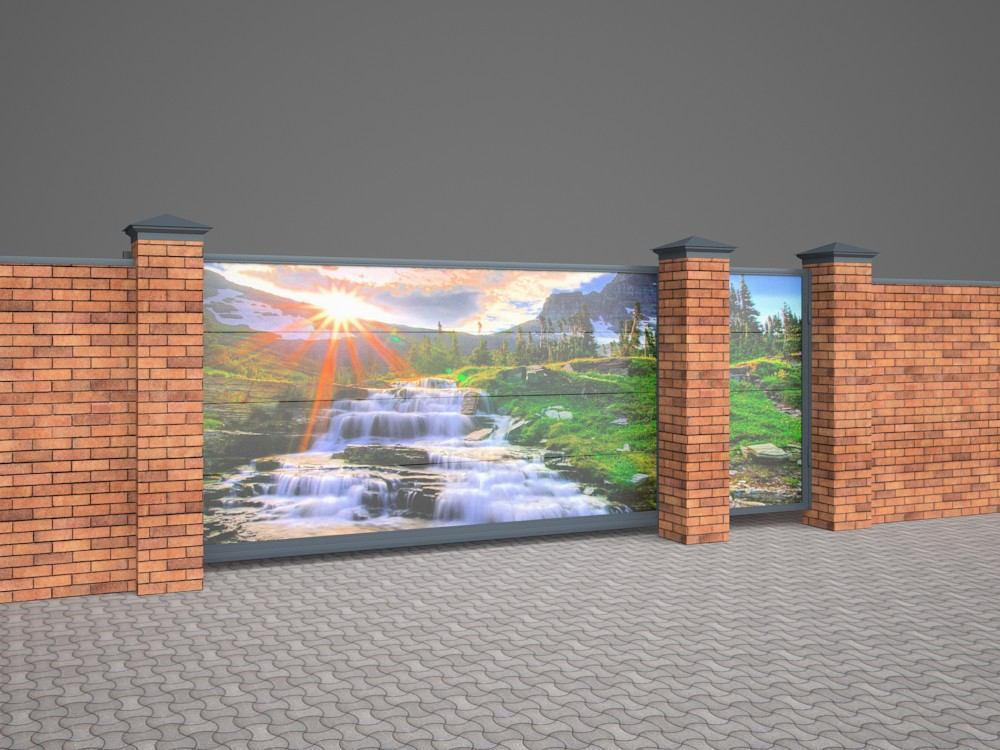 3D gate in 3d max vray 2.5 image