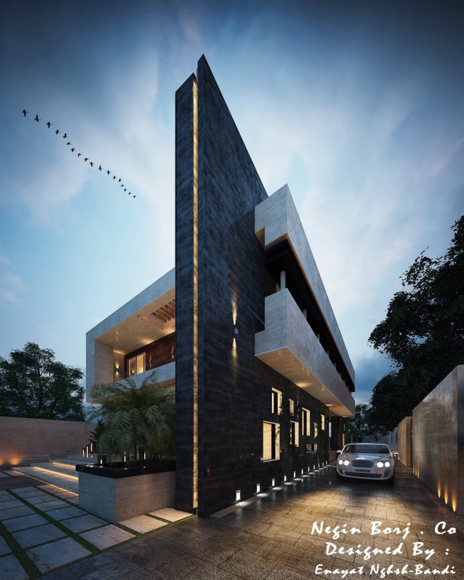 3d visualization of the project in the Exterior 3d max, render vray 3.0 of Meissam.khosravi