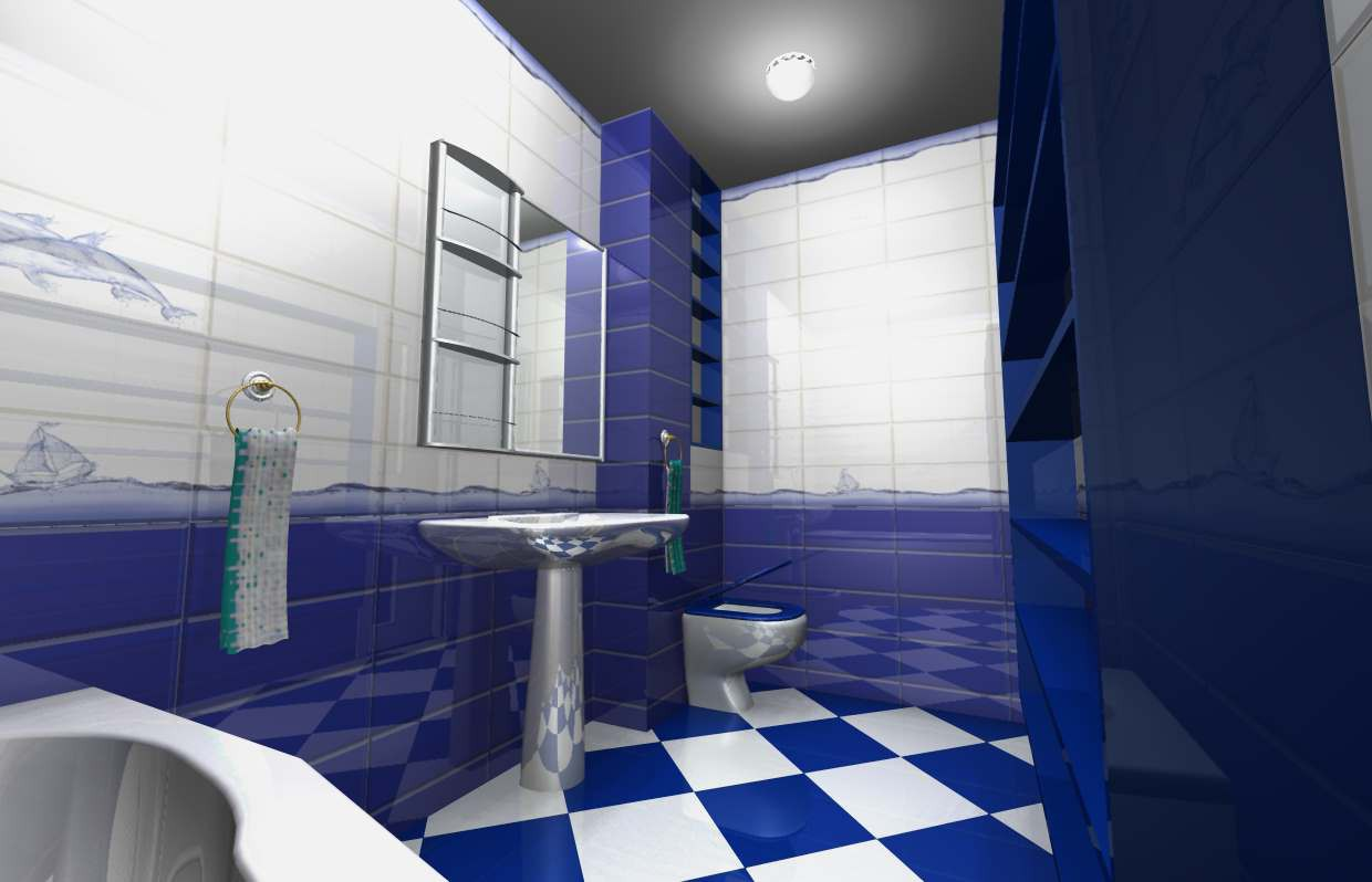 Design of a bathroom in an apartment in Other thing Other image