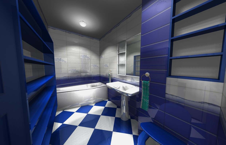 Дизайн Ванной комнаты в квартире в Другое Other изображение