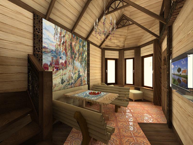 imagen de Algunas premisas en la casa de baños en 3d max vray