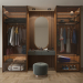 GLASS-MASTER-WARDROBE in 3d max vray 3.0 image