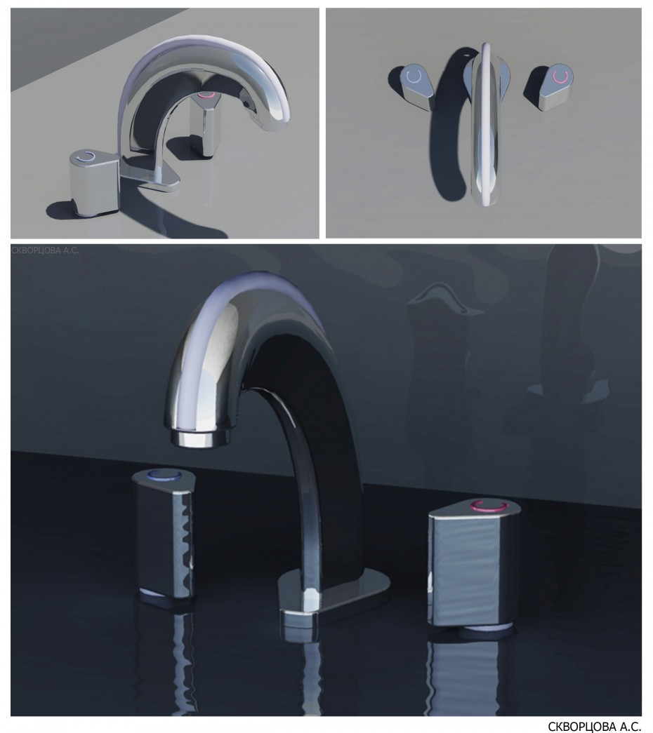 Mixing faucet in Other thing vray image