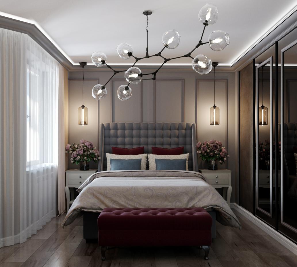 Bedroom Interior in 3d max corona render image