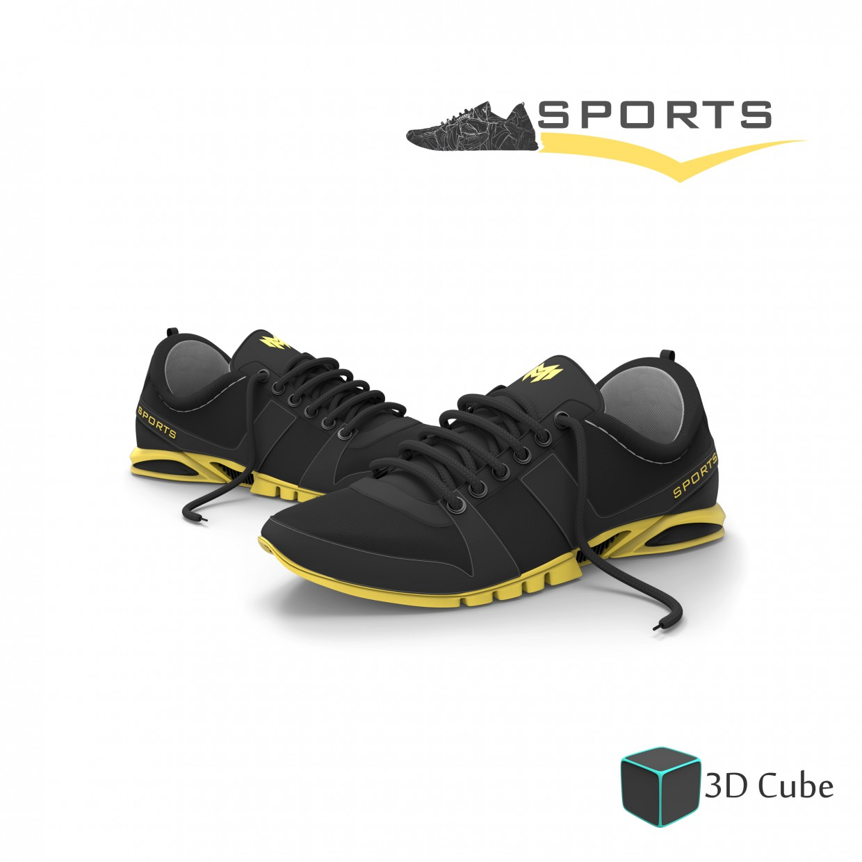 3d visualization of the project in the Sport Shoe 3d max, render Other of manoj rasanjana
