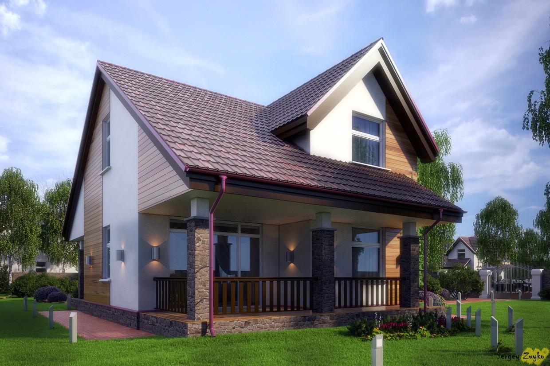 imagen de La casa:) en 3d max vray