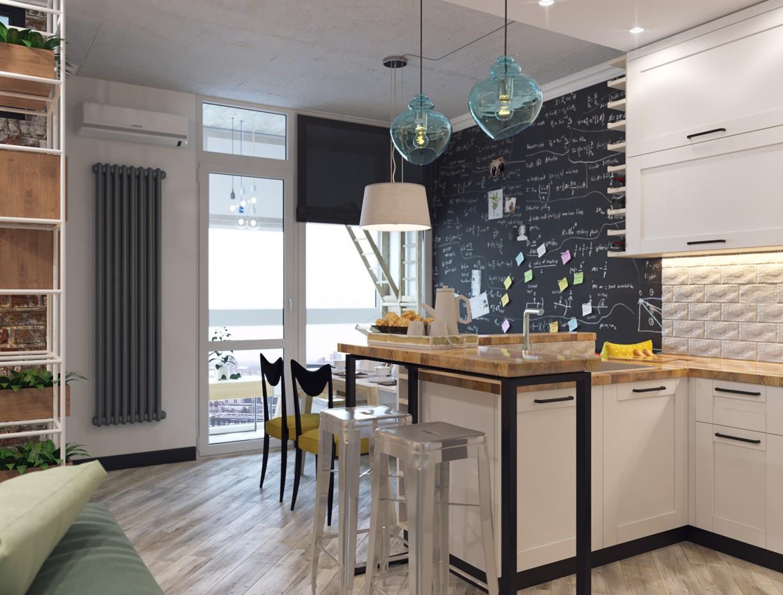 imagen de Apartamento loft en 3d max corona render