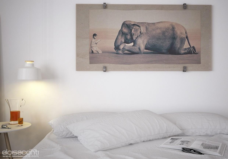Легкая спальня ... в Cinema 4d vray изображение
