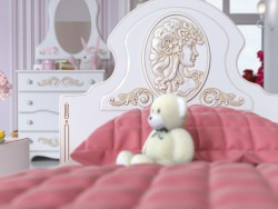Nursery room for girls