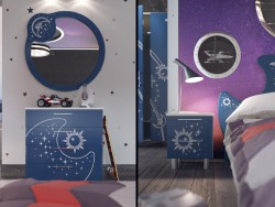 "Children room ""Galaxy"""