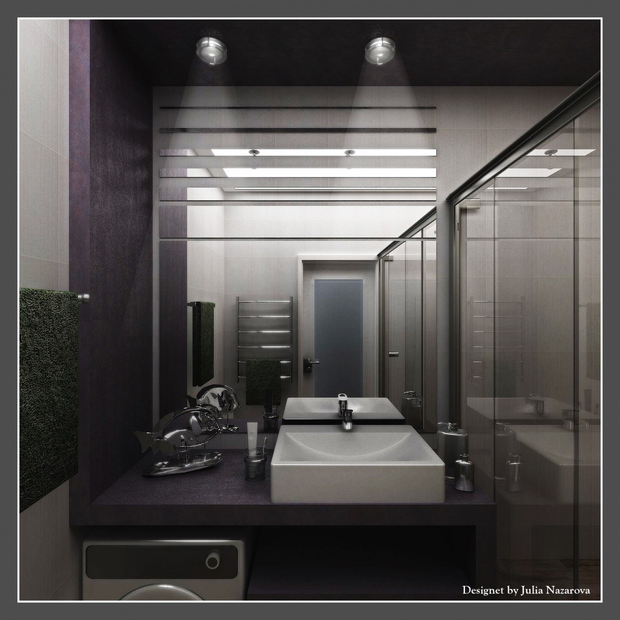 Bathroom. in 3d max vray 2.5 image