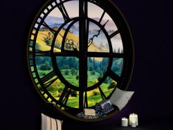 Muhteşem bir dünyaya açılan bir pencere.