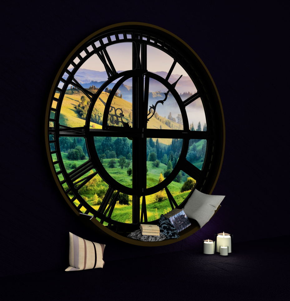 A window into an amazing world. in 3d max vray 1.5 image