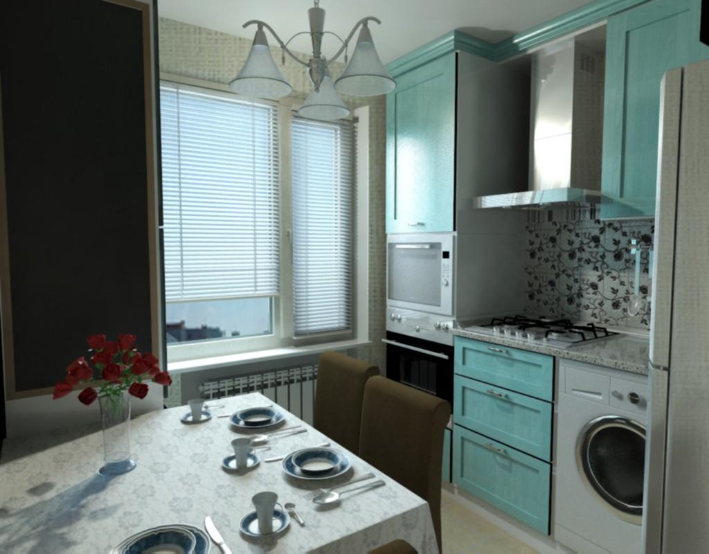 Кухня в 3d max mental ray зображення
