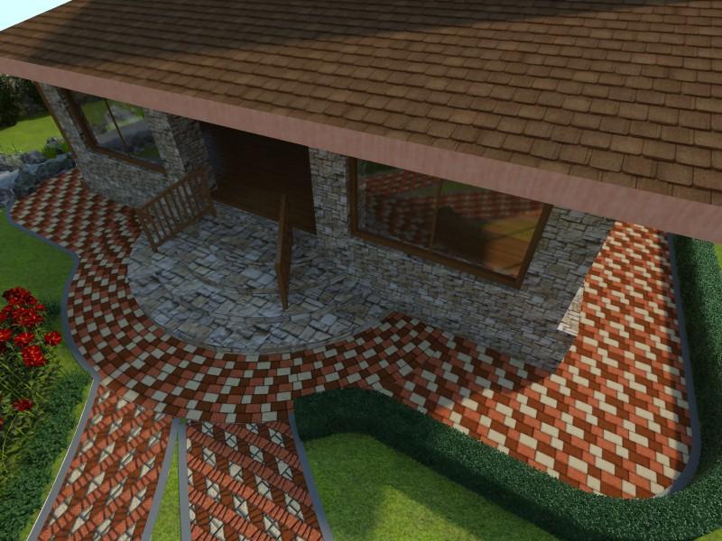 imagen de Exterior en 3d max vray