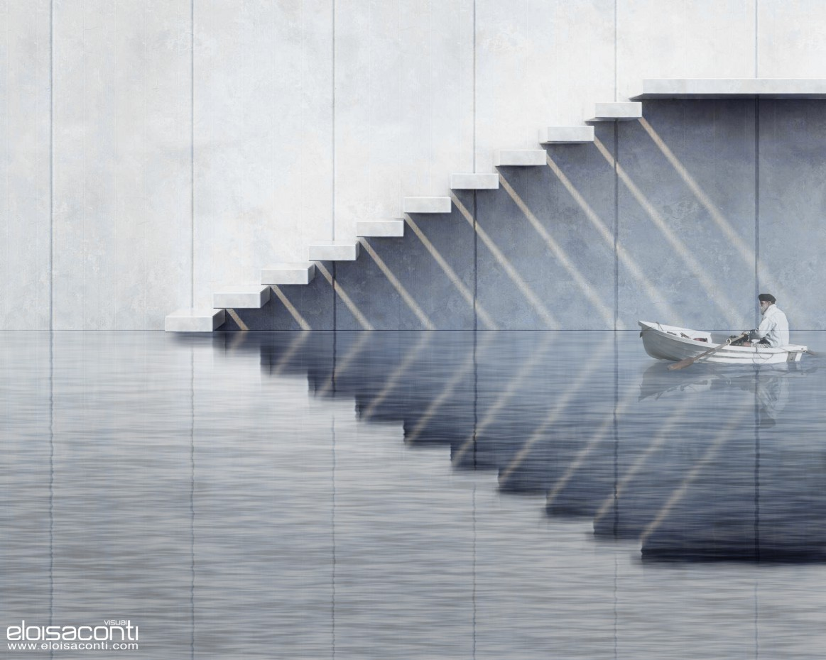 Stairs... in Other thing vray image