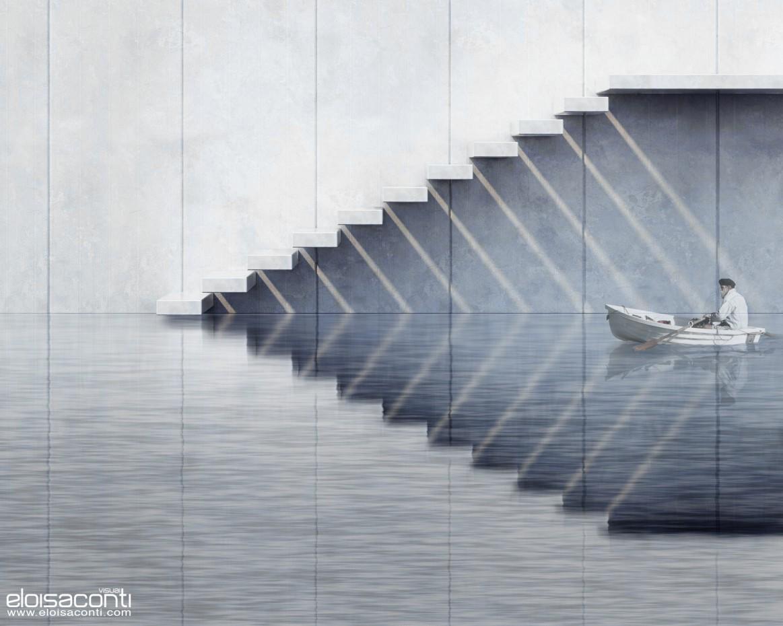 3d визуализация проекта Лестница ... в Другое, рендер vray от eloisa.conti